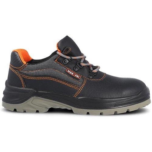 Zapato seguridad paredes, zp1003 piel negro, s3 src talla 36