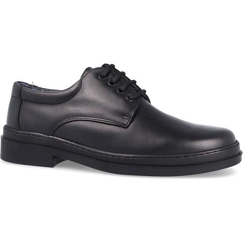 Zapato trabajo paredes, júpiter piel negro, sra, talla 42
