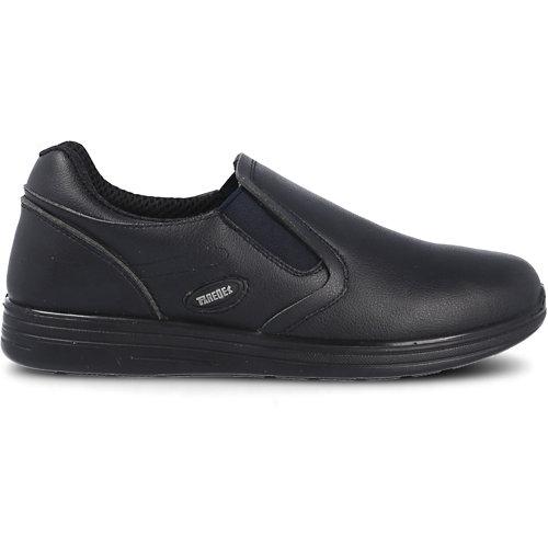 Zapato trabajo paredes, orión microfibra negro talla 36