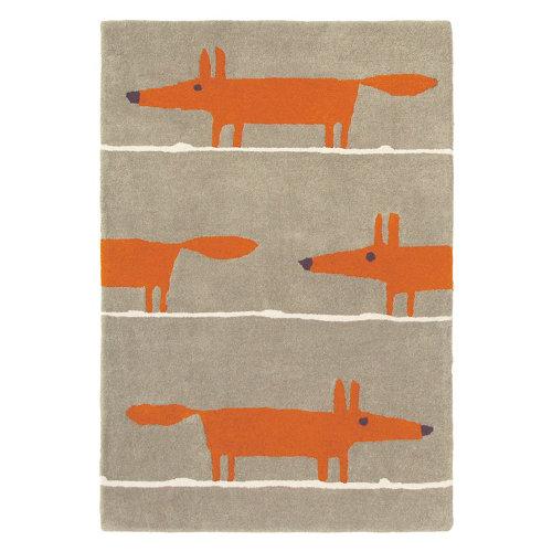 Alfombra lana scion mr-fox-cinna 25303 120x180cm