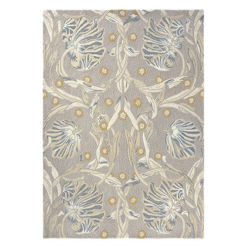 Alfombra lana y viscosa morris pimp-linen 28701 140x200cm