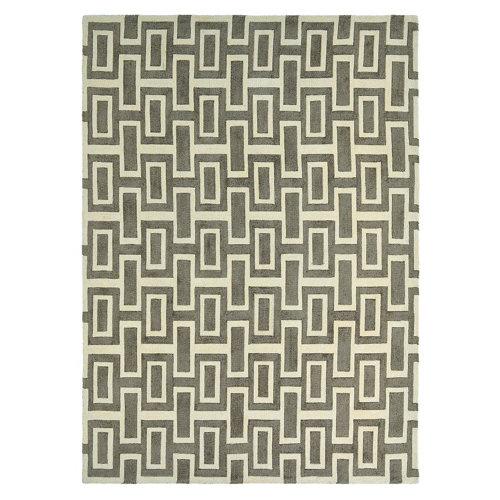 Alfombra lana y viscosa wedgewood intaglio-gris 170x240cm
