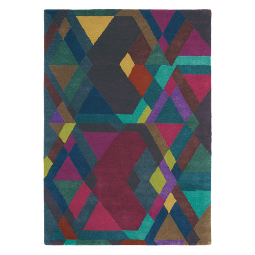 Alfombra lana y viscosa ted barker mosaic-dp-pur 170x240cm