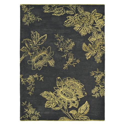 Alfombra lana y viscosa wedgewood tonquin-charc 120x180cm