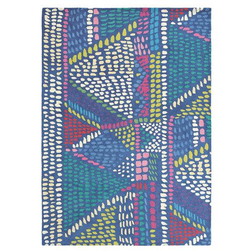 Alfombra lana azulbellgray bell gray palais 18408 200x280cm