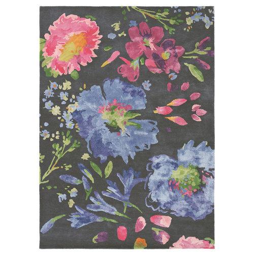 Alfombra lana azulbellgray bell gray kippen 18705 170x240cm