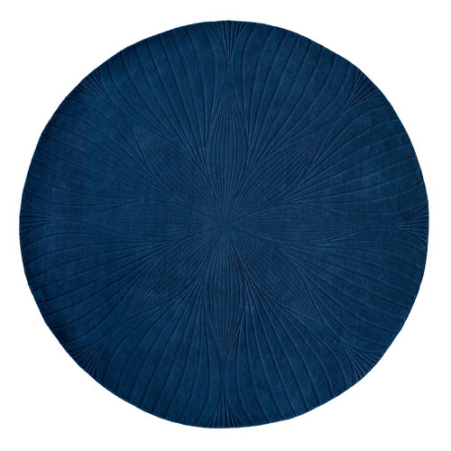 Alfombra lana y viscosa wedgewood folia-azul 38308 170x240cm