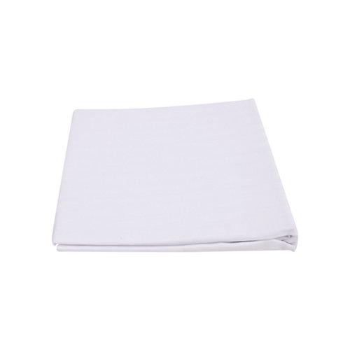 Funda de almohada blanca 40 x 90 cm