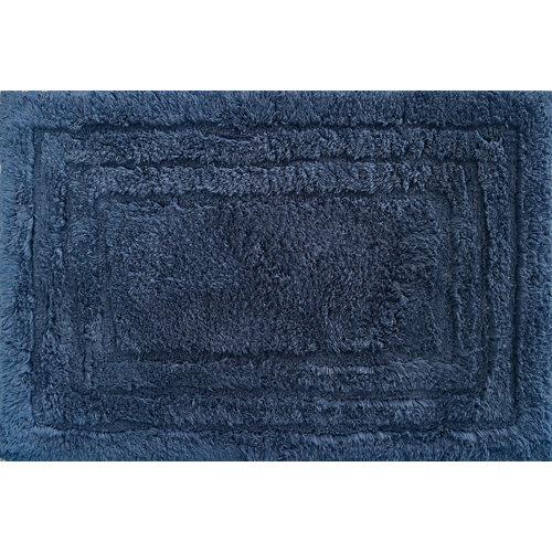Alfombra baño algodón kalithea marino 40cm 60cm
