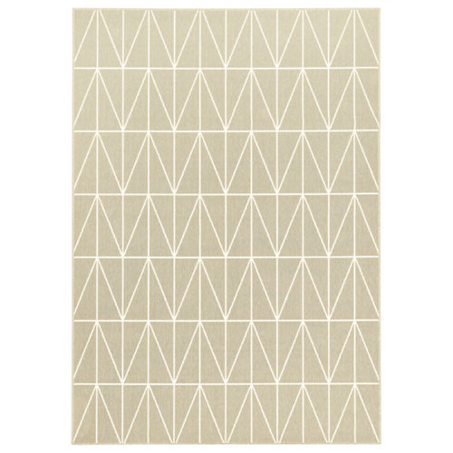 Alfombra in&out pp broadway 20412/658 taupe 140x200cm