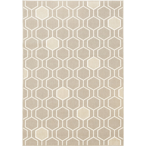 Alfombra in&out pp broadway 20404/558 taupe 140x200cm