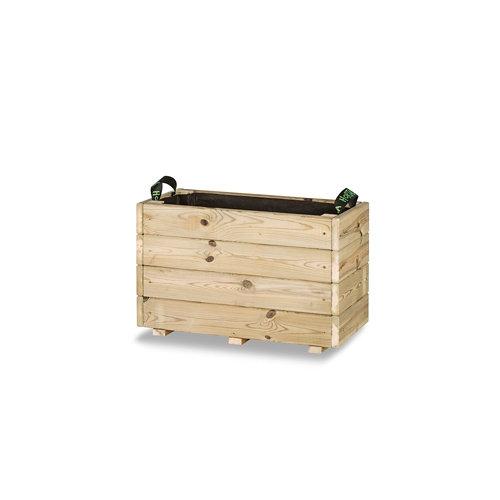 Jardinera rectangular ghio 60x30x40cm de hortalia