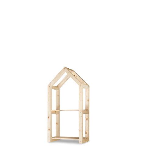 Estantería de madera para interior campanile s de hortalia