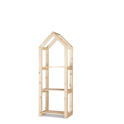 Estantería de madera para interior campanile m de hortalia