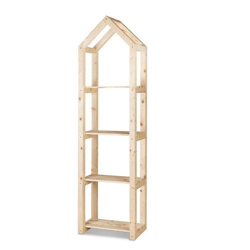 Estantería de madera para interior campanile l de hortalia