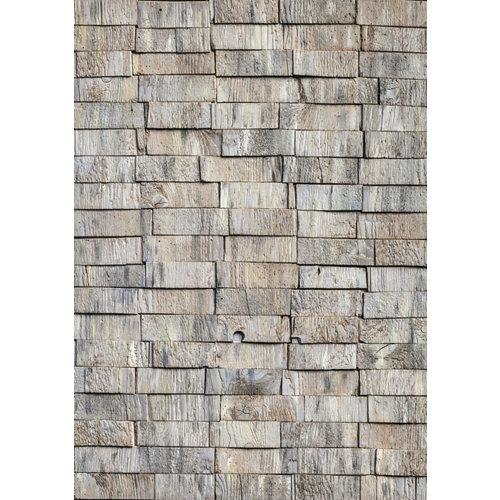 Rollo lamina vinilo autoadhesivo wood stack. 45cmx200cm