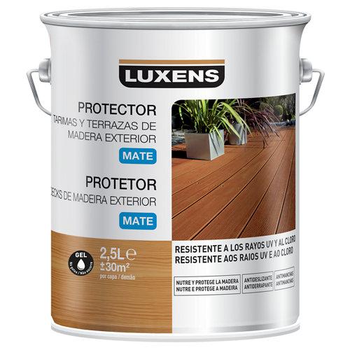 Protector de tarimas luxens 2.5 l teca