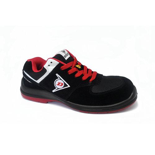 Zapato seguridad dunlop flying sword s3. rojo talla 45