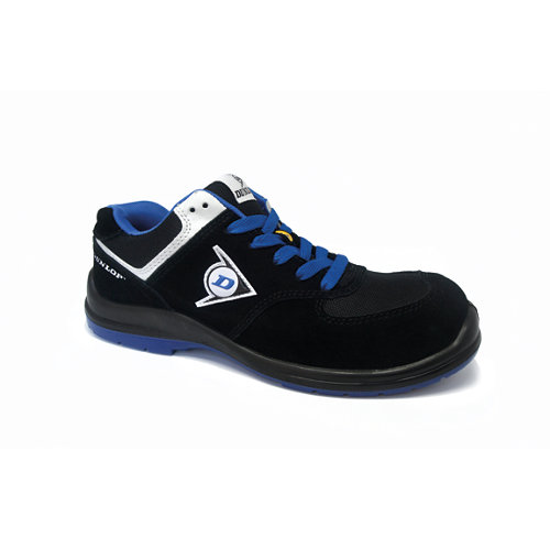 Zapato seguridad dunlop flying wing s3. azul talla 44