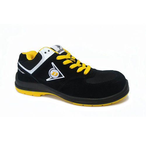 Zapato seguridad dunlop flying sword s3. amarillo talla 42