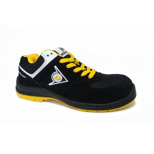 Zapato seguridad dunlop flying sword s3. amarillo talla 44