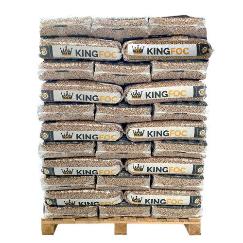 Palet de 77 sacos de pellet kingfoc