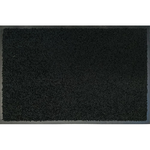 Felpudo poliamida contract negro 90x150cm