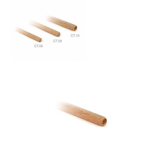 100 espigas fabricadas en madera con diametro 10 mm