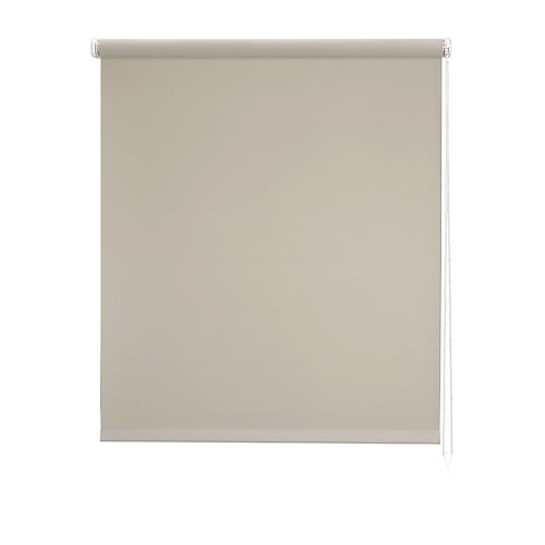 Estor enrollable loneta plane beige 90x250 cm