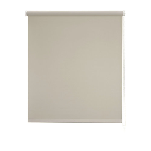 Estor enrollable blackout bo beige 90x250 cm