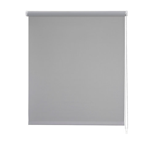 Estor enrollable blackout bo gris 90x250 cm