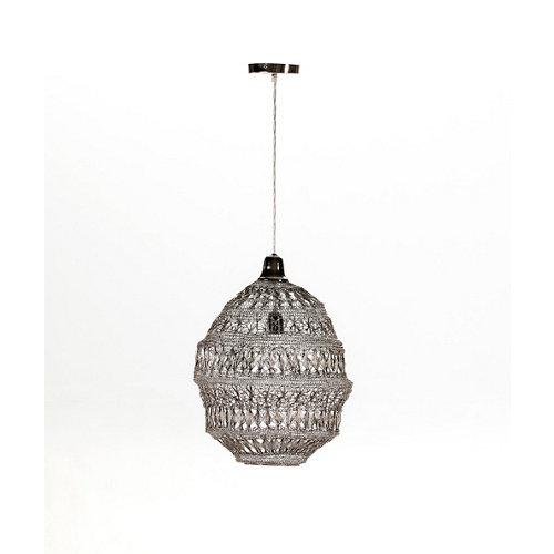 Lámpara de techo modelo bali acabado cromo