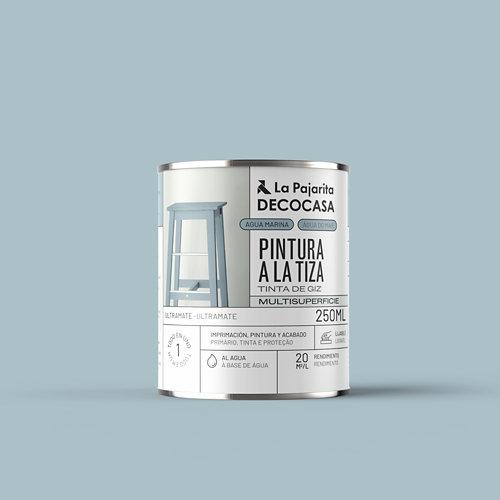 Pintura tiza la pajarita 250ml agua marina