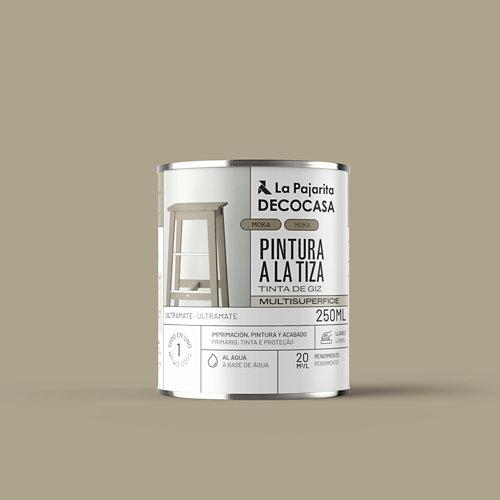 Pintura tiza la pajarita 250ml moka