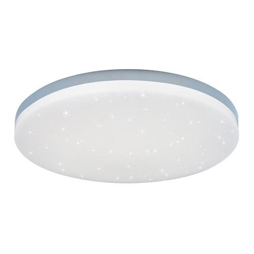 Plafón led lumiplus eros aro 24w blanco estrellado