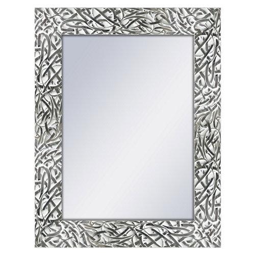Espejo rectangular cohen blanco 70 x 90 cm