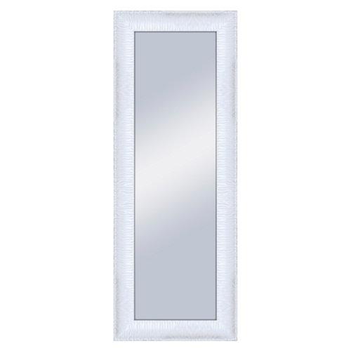 Espejo rectangular gaga blanco blanco 160 x 60 cm