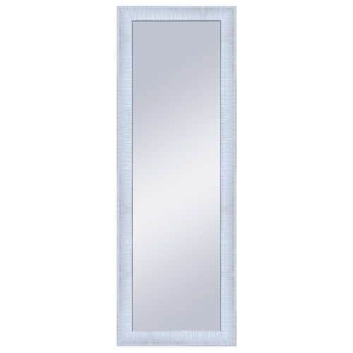 Espejo rectangular kravitz lacado blanco 154 x 54 cm