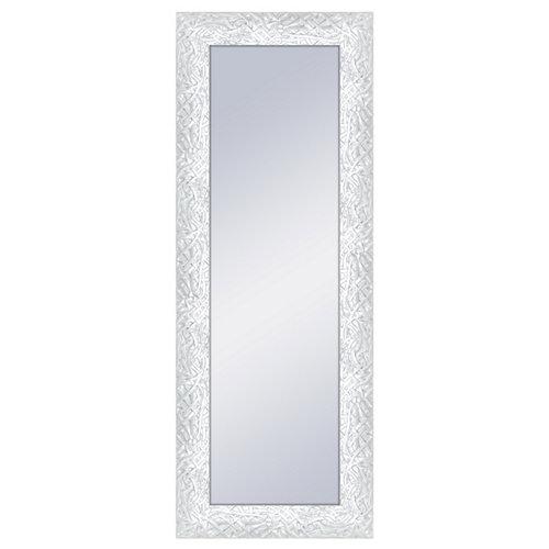 Espejo rectangular bob blanco 160 x 60 cm