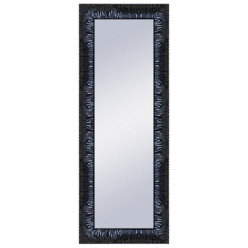 Espejo rectangular amy negro negro 160 x 60 cm