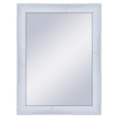 Espejo rectangular kravitz lacado blanco 64 x 84 cm