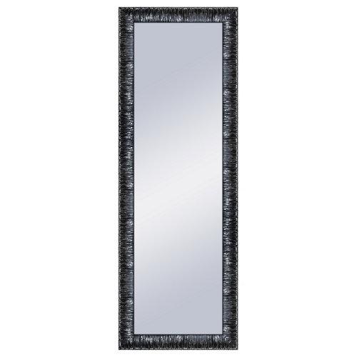 Espejo rectangular elvis lacado negro 154 x 54 cm