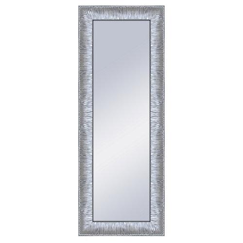 Espejo rectangular marilyn plata plata 160 x 60 cm
