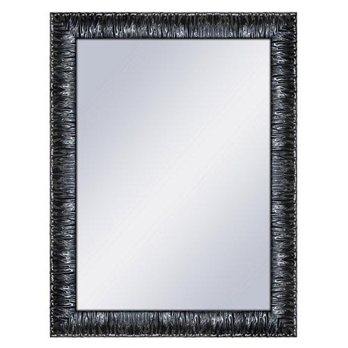 Espejo rectangular elvis lacado negro 64 x 84 cm