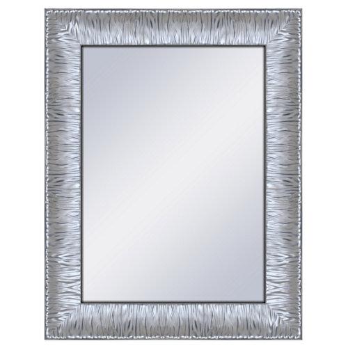 Espejo rectangular marilyn plata plata 70 x 90 cm
