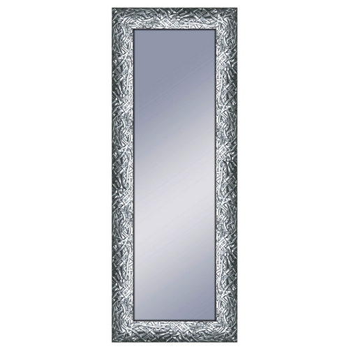 Espejo rectangular dylan plomo acero 160 x 60 cm