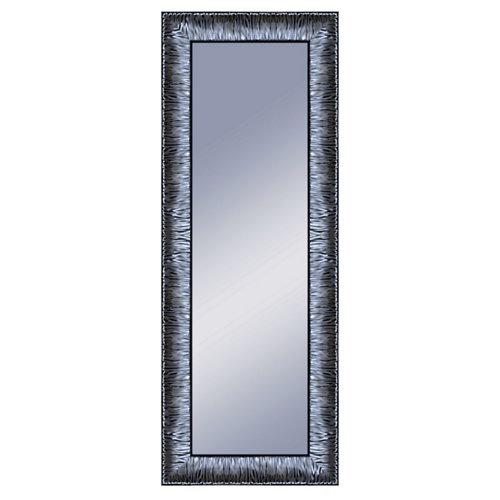 Espejo rectangular katy plomo acero 160 x 60 cm