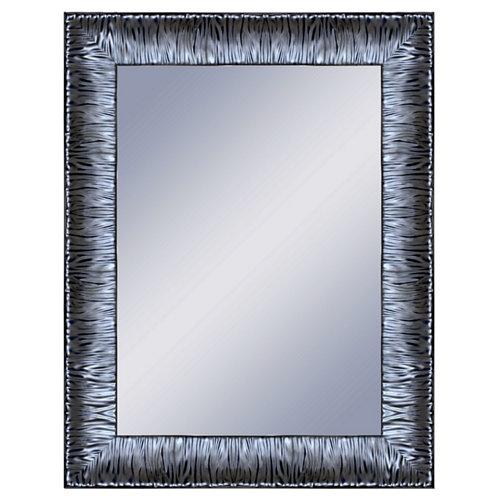 Espejo rectangular katy plomo acero 70 x 90 cm