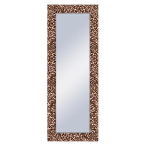 Espejo rectangular harper bronce bronce 159 x 59 cm