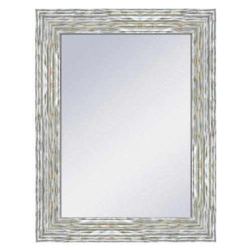 Espejo rectangular williams plata plata 69 x 89 cm